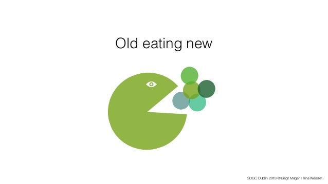 SDGC Dublin 2018 © Birgit Mager I Tina Weisser Old eating new