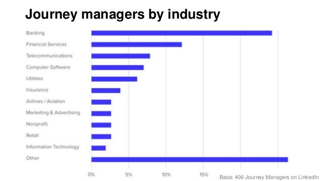 Journey managers' professional & educational backgrounds