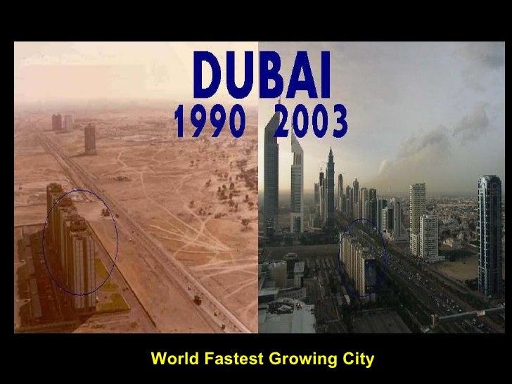 World Fastest Growing City