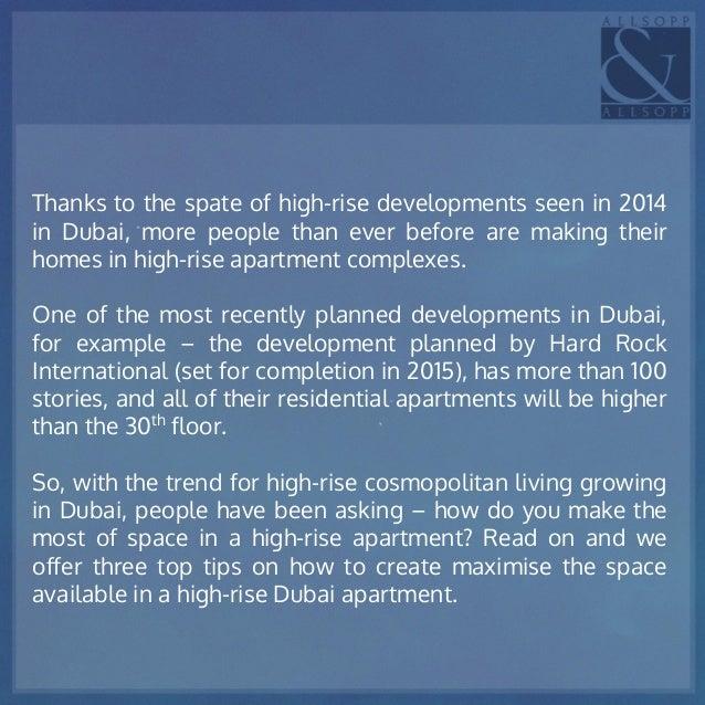 Dubai Apartments Interior Design Trends