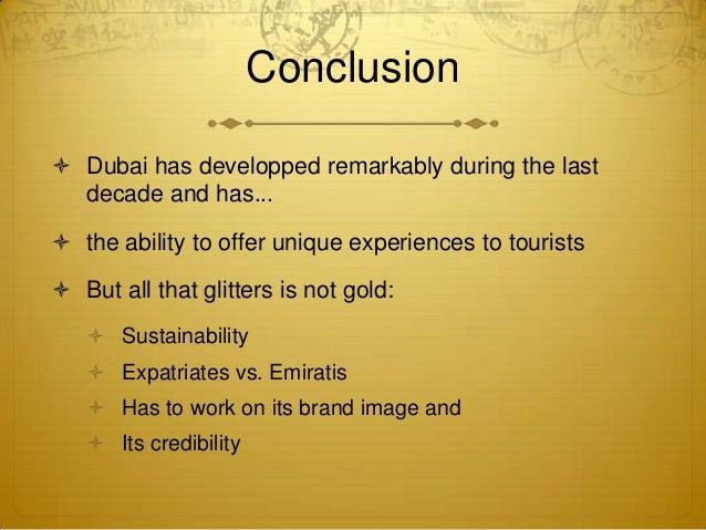 Essay about dubai tourism