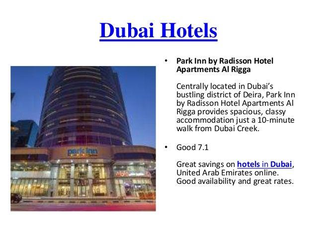 Great discounts on Dubai hotels, United Arab Emirates  BOOK