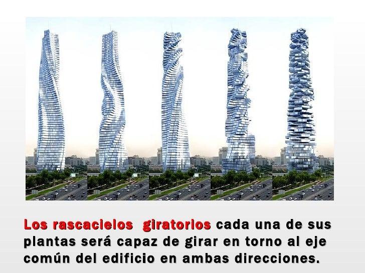 personas los rascacielos giratorios