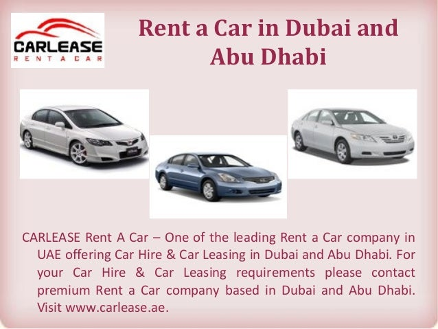 Requirements To Rent A Car >> Dubai And Abu Dhabi Car Rental