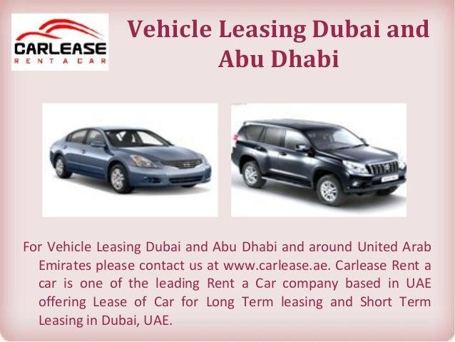 Long Term Car Rental Prices Dubai