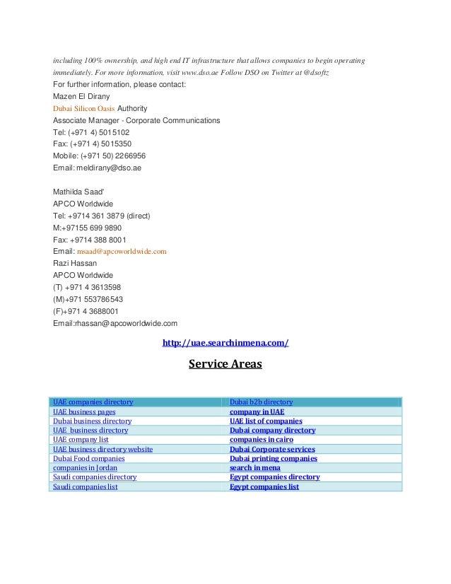 Dubai b2b directory