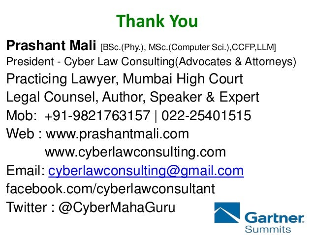 Cyber Crime Incidents At Gcc In Gartner Dubai Prashant Mali