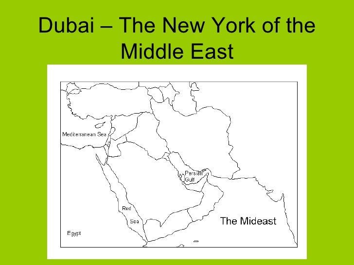 Dubai – The New York of the Middle East