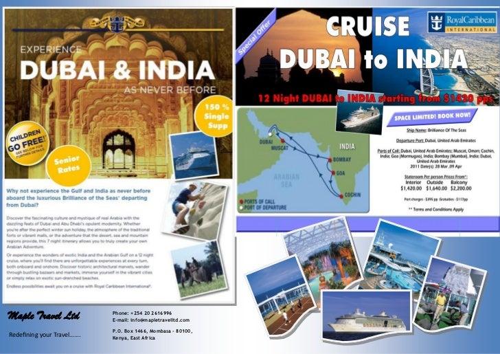Maple Travel Ltd            Phone: +254 20 2616996                            E-mail: info@mapletravelltd.com             ...