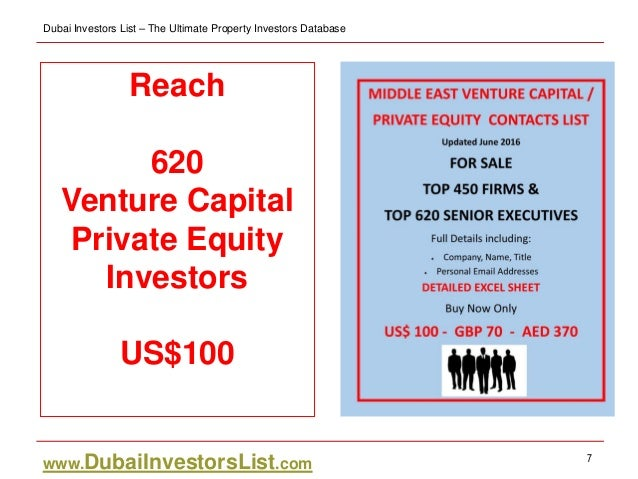 Middle east venture capital private equity directory - Middle office private equity ...