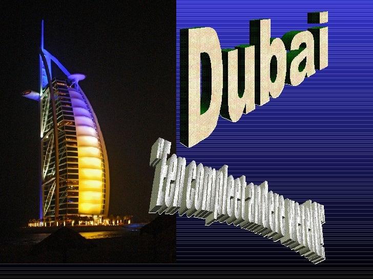 """Dubai """"Een compleet andere wereld!"""""""