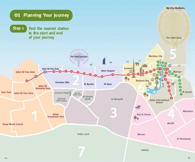 704Find the nearest stationto the start and endof your journeyStep 1Planning Your Journey0105