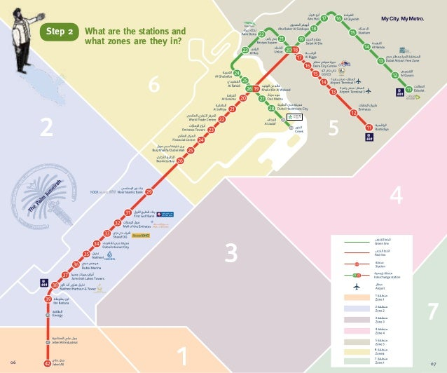 667706 07What are the stations andwhat zones are they in?Step 2