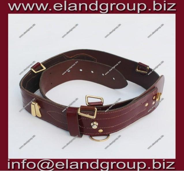 Dubai police sam browne belt