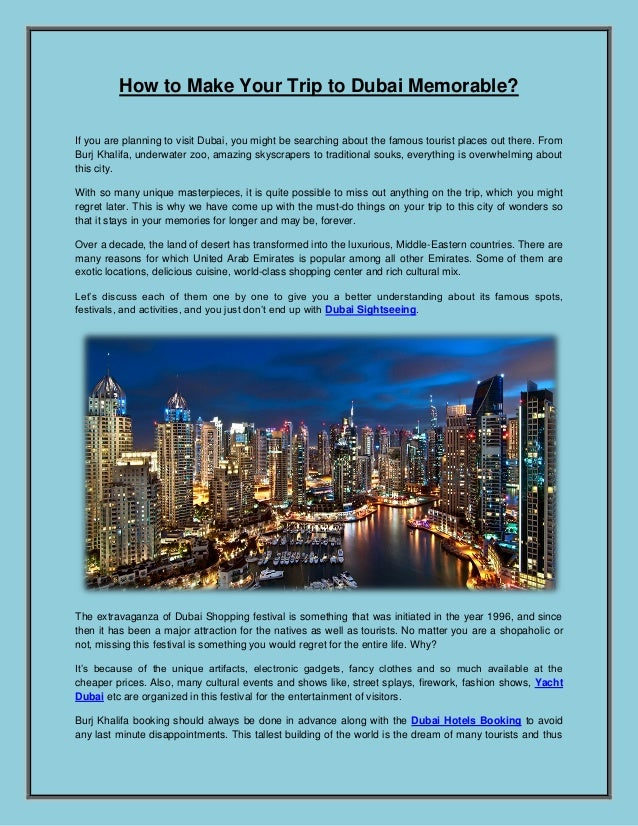 Dubai Sightseeing | Yacht Dubai | Dubai Hotels Booking
