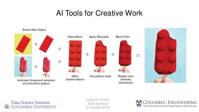 AI Tools for Creative Work Lydia B. Chilton DUB Seminar 2 October 2019