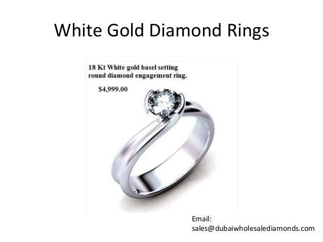Dubai Diamond Rings Sales