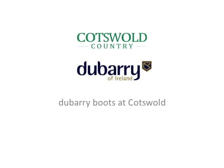 dubarry boots at Cotswold