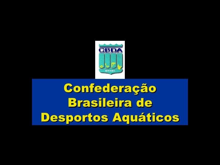 Confederação Brasileira de Desportos Aquáticos