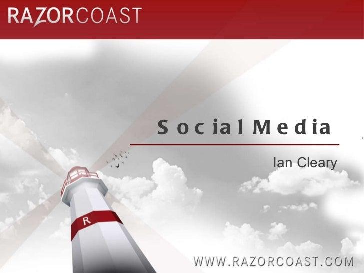 Social Media Ian Cleary