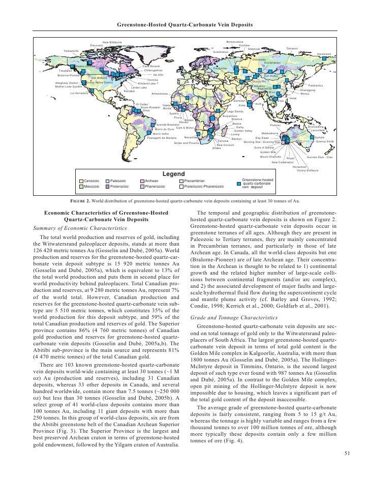 Greenstone-Hosted Quartz-Carbonate Vein Deposits                                             New Brittannia               ...