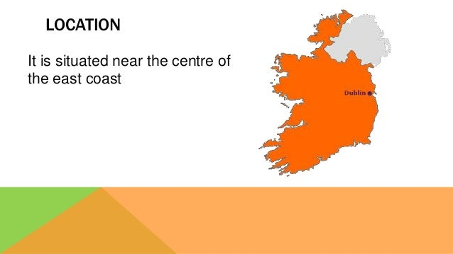 LOCATION It is situated near the centre of the east coast