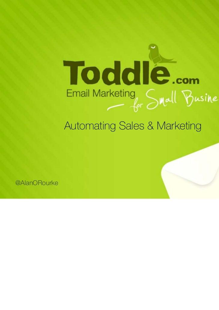 Automating Sales & Marketing@AlanORourke