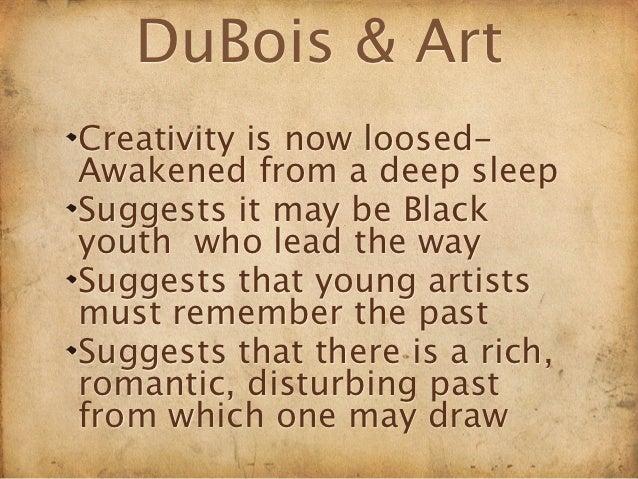 DuBois and Locke on Art Slide 3