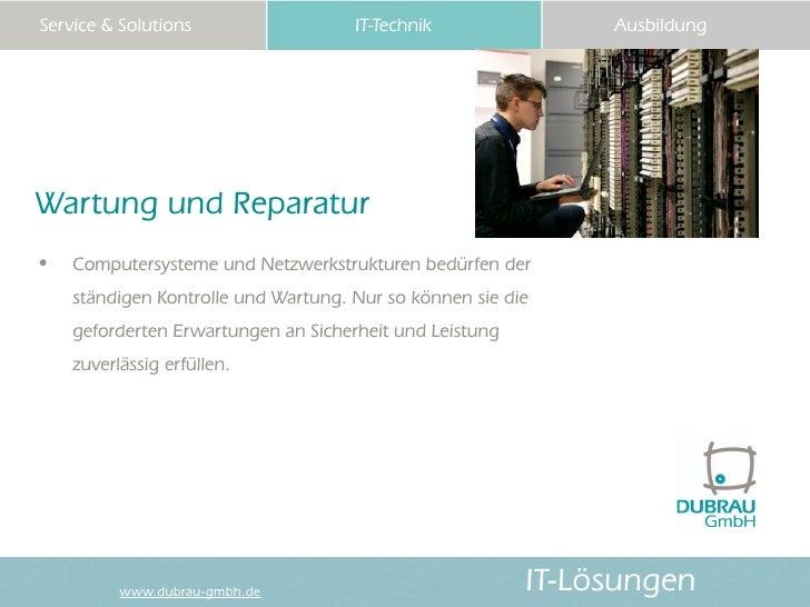 Dubrau Firmen-Präsentation