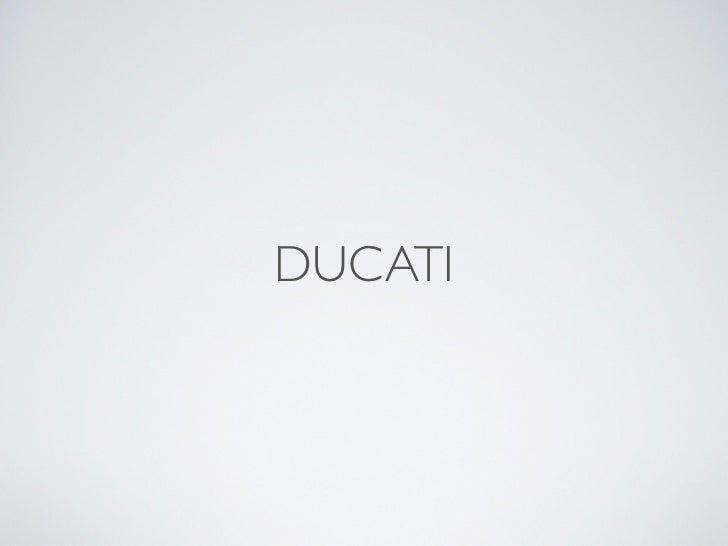 Ducati Harvard Case Solution & Analysis