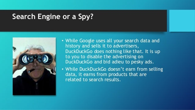 DuckDuckGo vs google privacy is not a problem anymore