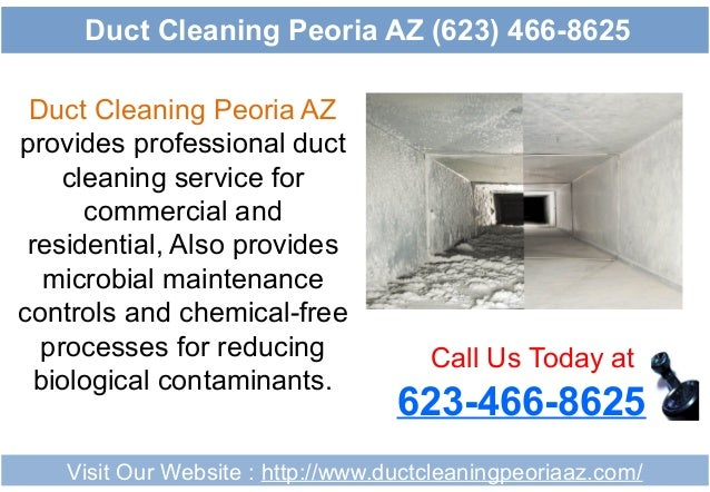 Duct Cleaning Peoria AZ provides professional duct cleaning service for commercial and residential, Also provides microbia...