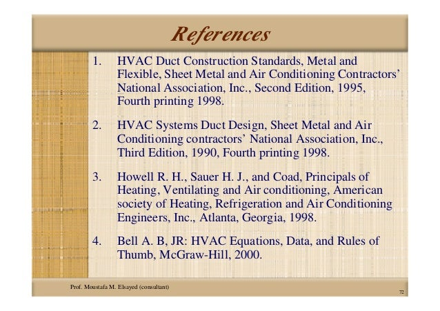 hvac equations data and rules of thumb third edition pdf