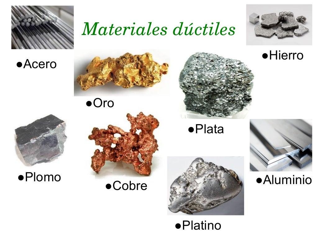 Ductilidad y maleabilidad - Hierro y aluminio ...