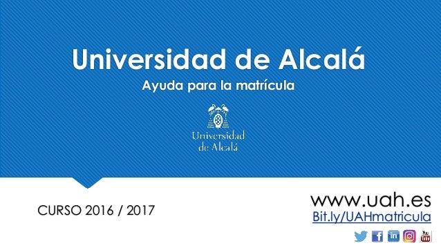 Uah Calendario Academico.Dudas Automatricula Universidad De Alcala