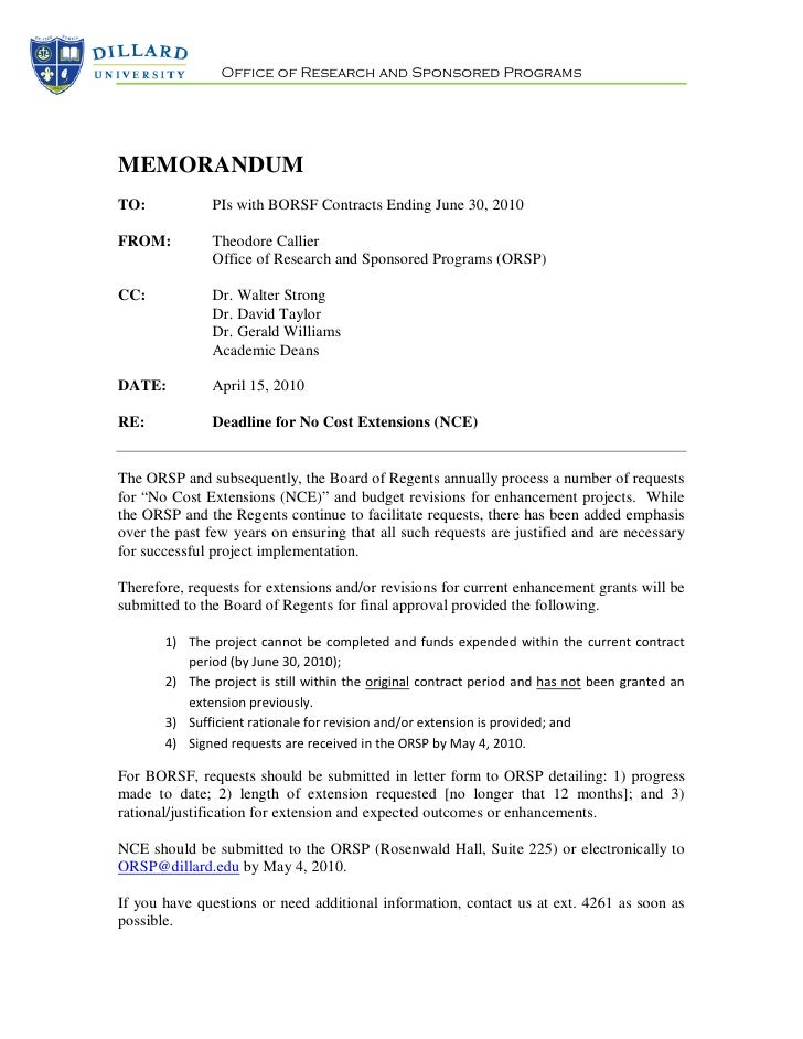 DU Deadline for No Cost Extensions 4 6-2010 (2)