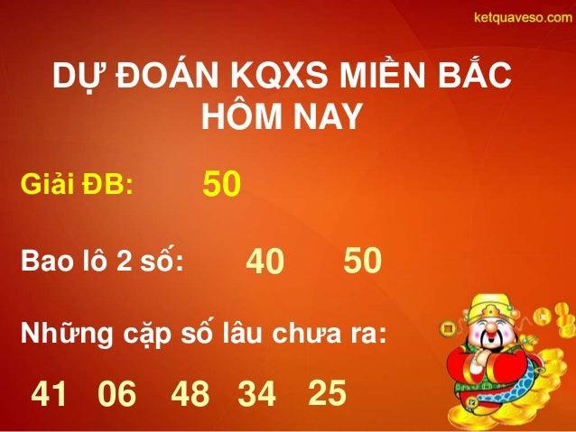 Du Doan Ket Qua Xo So Mien Bac Kqxs Mb Hom Nay Thu 4 Ngay 01 4 2015