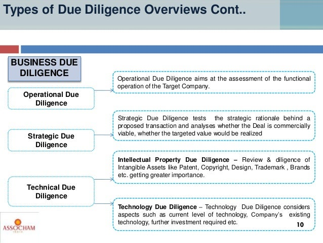 types of due diligence overviews 9 10