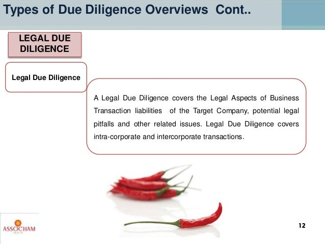 Legal Due Diligence A Legal Due Diligence covers the Legal Aspects of Business Transaction liabilities of the Target Compa...