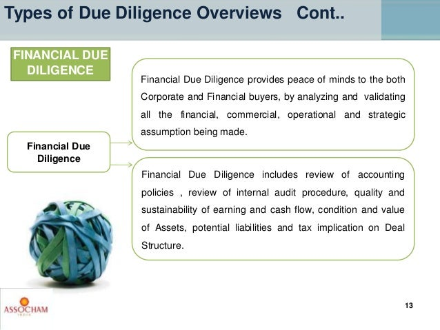 Financial Due Diligence provides peace of minds to the both Corporate and Financial buyers, by analyzing and validating al...