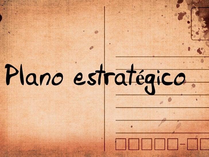 Pla no estratégico