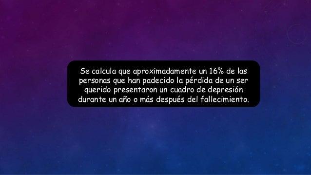 DUELO NORMAL Y PATOLÓGICO Slide 2
