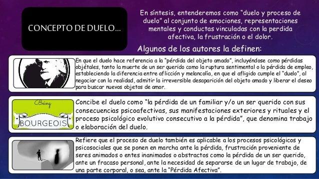 DUELO NORMAL Y PATOLÓGICO Slide 3