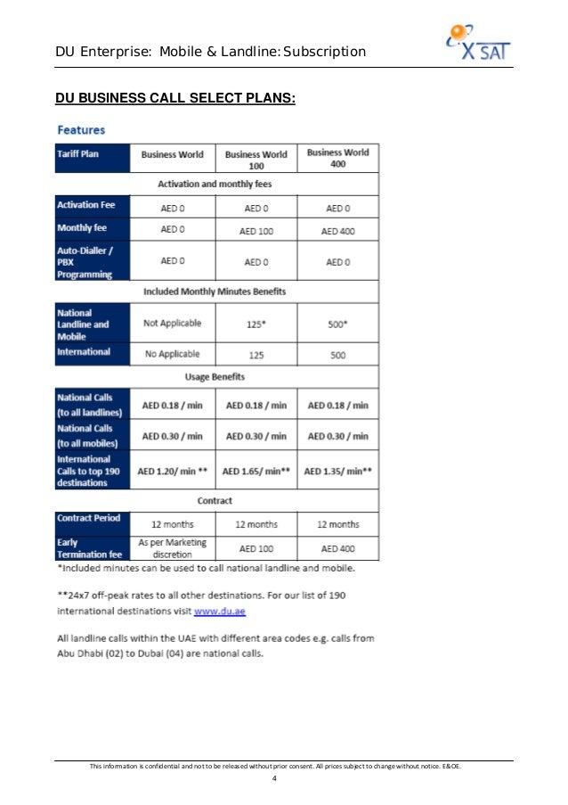 Du enterprise services overview 3 2