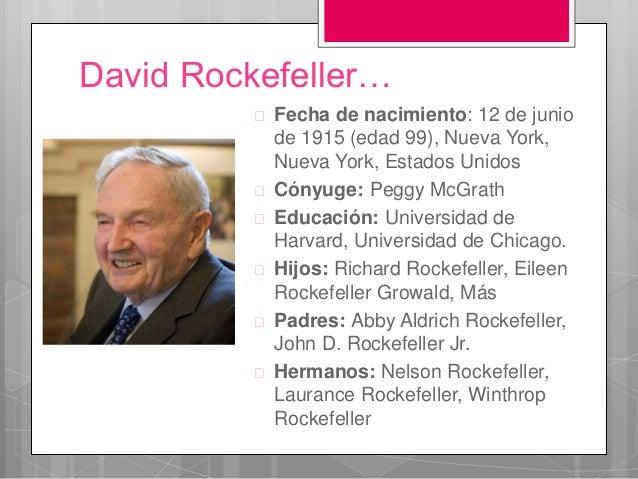 Resultado de imagen de El mundo según Rockefeller
