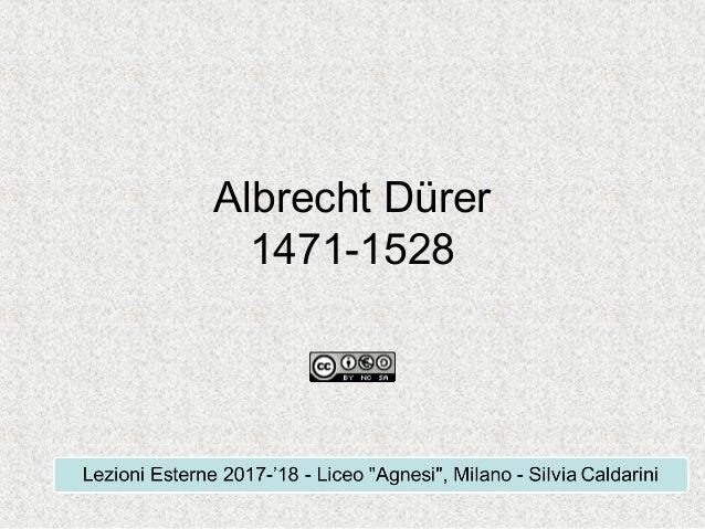 Albrecht D�rer 1471-1528