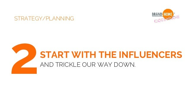 STRATEGY/PLANNING 3 • Social Media • Instagram: Product demonstration, education and optimal combinations. • Facebook: Opt...
