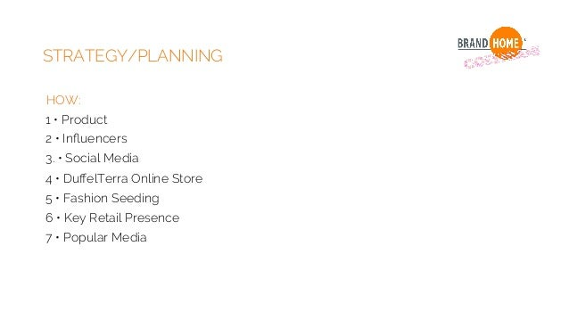 STRATEGY/PLANNING 4 • DuffelTerra Online Store - Online Delivery - Product Heritage - Duffel Wool Education - Look Book and ...