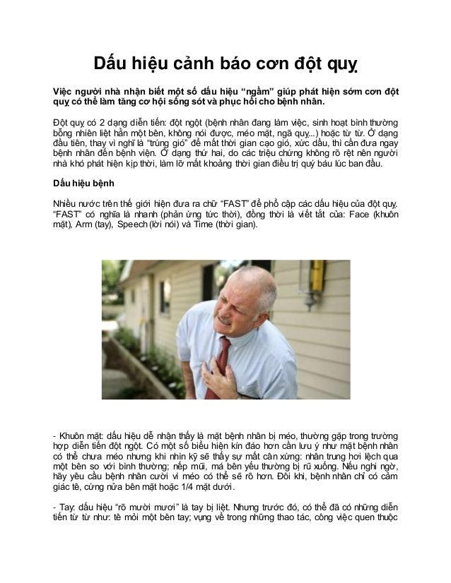 """Dấu hiệu cảnh báo cơn đột quỵ Việc người nhà nhận biết một số dấu hiệu """"ngầm"""" giúp phát hiện sớm cơn đột quỵ có thể làm tă..."""