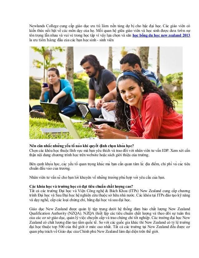 Newlands College cung cấp giáo dục ưu tú làm nền tảng dự bị cho bậc đại học. Các giáo viên có kiến thức nổi bật về các môn...